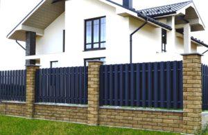 Заборы для частных домов